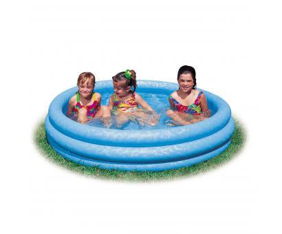 Bazén nafukovací modrý 114x25cm