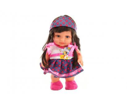 Bábika čiernovláska v sáčku 24cm