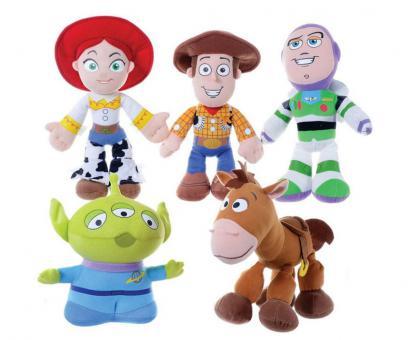 Toy Story plyš 5druhov 30 - 37cm