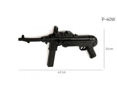 Imitácia zbrane z plastu na guličky