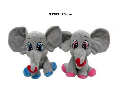Slon so srdcom 2 farby 20cm
