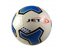 Lopta fotbalová,bielomodrá, veľkosť 5