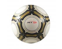 Lopta fotbalová,bielozlatá, veľkosť 5