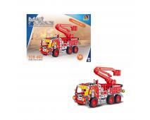 Malý mechanik - hasič.auto s plošinou