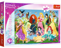 Puzzle 100 Disney Princess