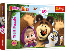 Puzzle 60 Máša a medveď