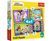 Puzzle 4v1 Mimoni