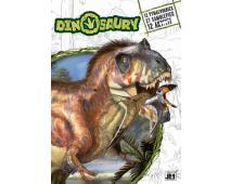 A4+ - Dinosaury+samolepky