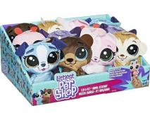 Plyš Littlest Pet Shop 10cm, 12ks v dbx