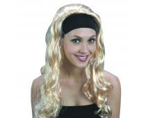 Parochňa - Super blond dlhá s čelenkou