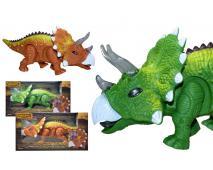 Dinosaurus chodiaci, svetlo, zvuk