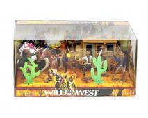 WESTERN - kovboji s dostavníkom