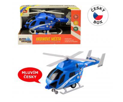 Vrtulník policajný na zotrv. + BO