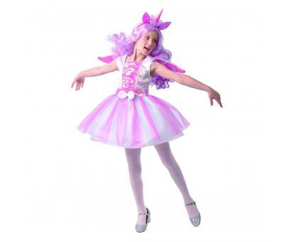 Šaty na karneval - jednorožec,120-130cm