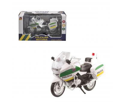 Motorka policajná - SK,12cm