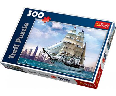 Puzzle 500 Plachetnica