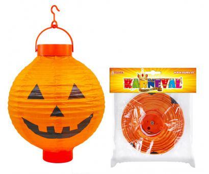 Lampion Halloween dyňa, na batérie