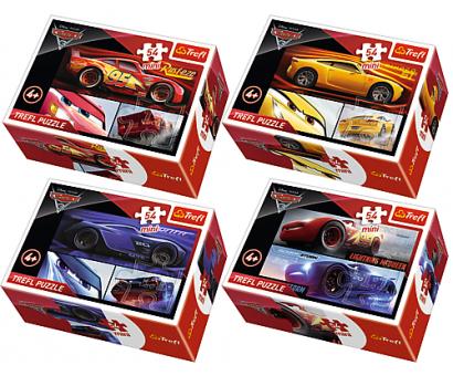 Puzzle 54 mini Cars 3