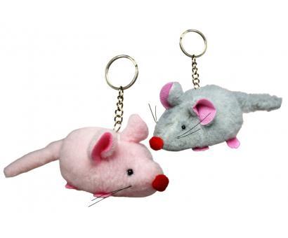 Prívesok - myška červený nosík