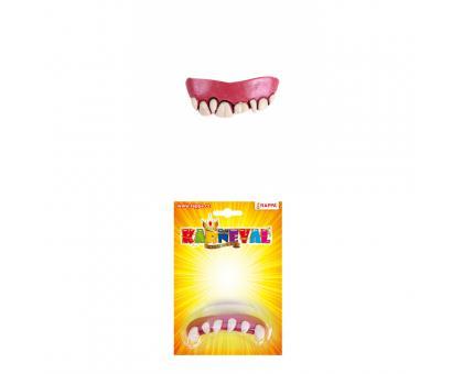 Zuby gumové, 3 druhy