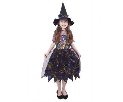 Kostým čarodejnice M, farebný